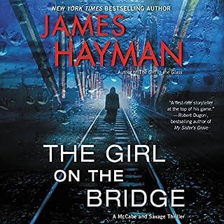 The Girl on the Bridge audiobook cover art