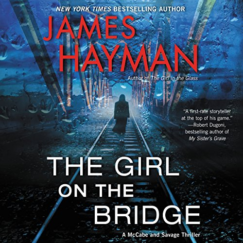 The Girl on the Bridge audiobook cover art