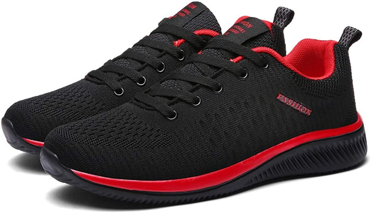 YAYADI Sports shoes Boys Plus Lightweight Breathable Running shoes For Men Fly Weaving Sports Sneakers Walking shoes