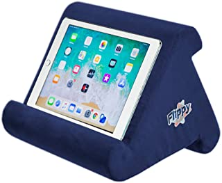 Flippy Multi-Angle Soft Pillow Lap Stand for iPads, Tablets, eReaders, Smartphones, Books, Magazines (True Blue)
