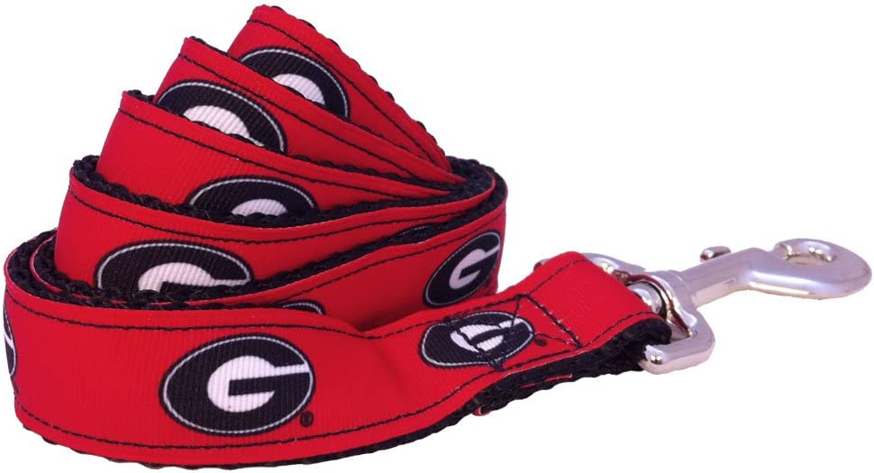NCAA Georgia Bulldogs Dog Color Small Leash Team Popular standard Fashion