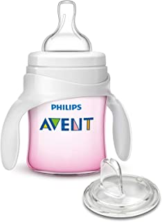 Philips AVENT My First Transition Cup, Pink, 4 Ounce