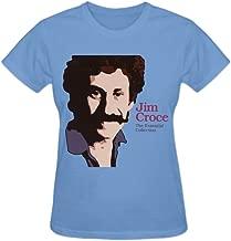 Jim Croce The Essential Collection Premium cotton Cotton T Shirt For Women O-Neck