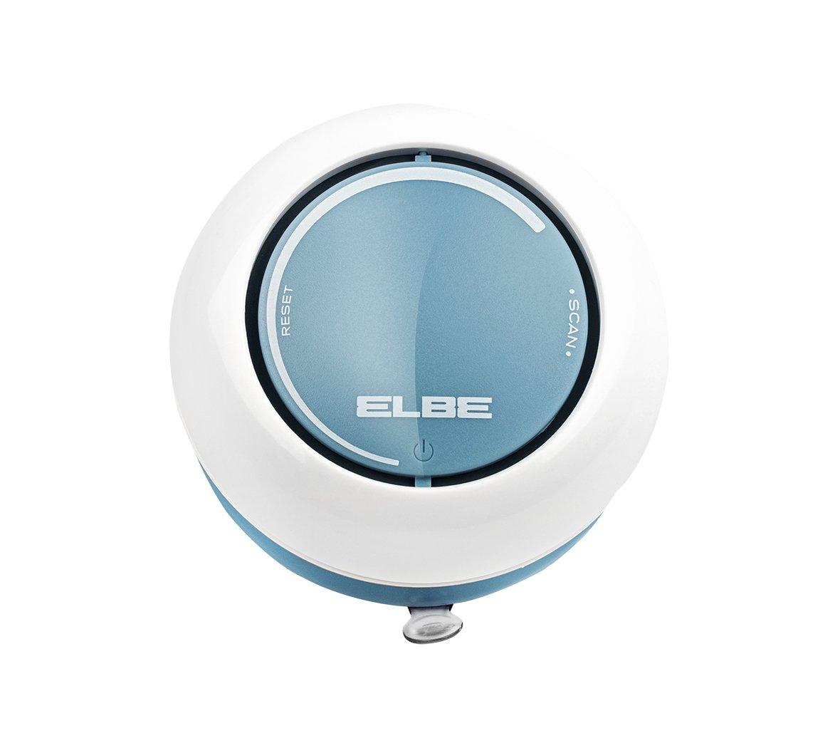 Elbe DR-1308 Radio de Ducha, Radio FM Auto scan, ipx4 contra Salpicaduras, Altavoz Incorporado, Control de Volumen, ventosas para Fijar en Pared, Funciona con Pilas, Color Blanco Azul: Amazon.es: Electrónica