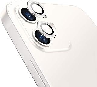 TAMOWA kamera skottsäkert glas för iPhone 12 Mini, kamerans skärmskydd, kameraskydd, kameraskydd, linsskärmskydd
