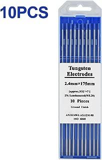 HZXVOGEN 2% Lanthanated Tungsten 10 PCS 3/32