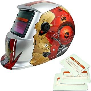 Energía Solar Oscurecimiento Automático Caretas para Soldar Casco de Soldadura Hombre Escudo de Soldadura Gafas Máscara