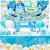 SMIRLY Baby Shower Decorations for Boy: Baby Boy Baby Shower Decorations, Baby Boy Shower Decorations, Baby Shower Boy Decorations Set, Its a Boy Decorations for Baby Shower Boy, Baby Boy Decorations