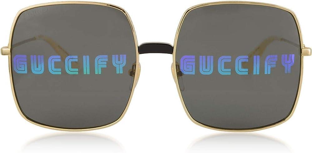 Gucci luxury fashion occhiali da sole da donna GG0414S002