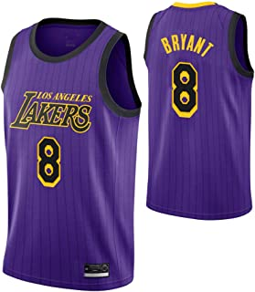 Kobe Bryant Los Angeles Lakers NO.8 Show time City Edition Swingman Jersey, Men & Youth Jersey