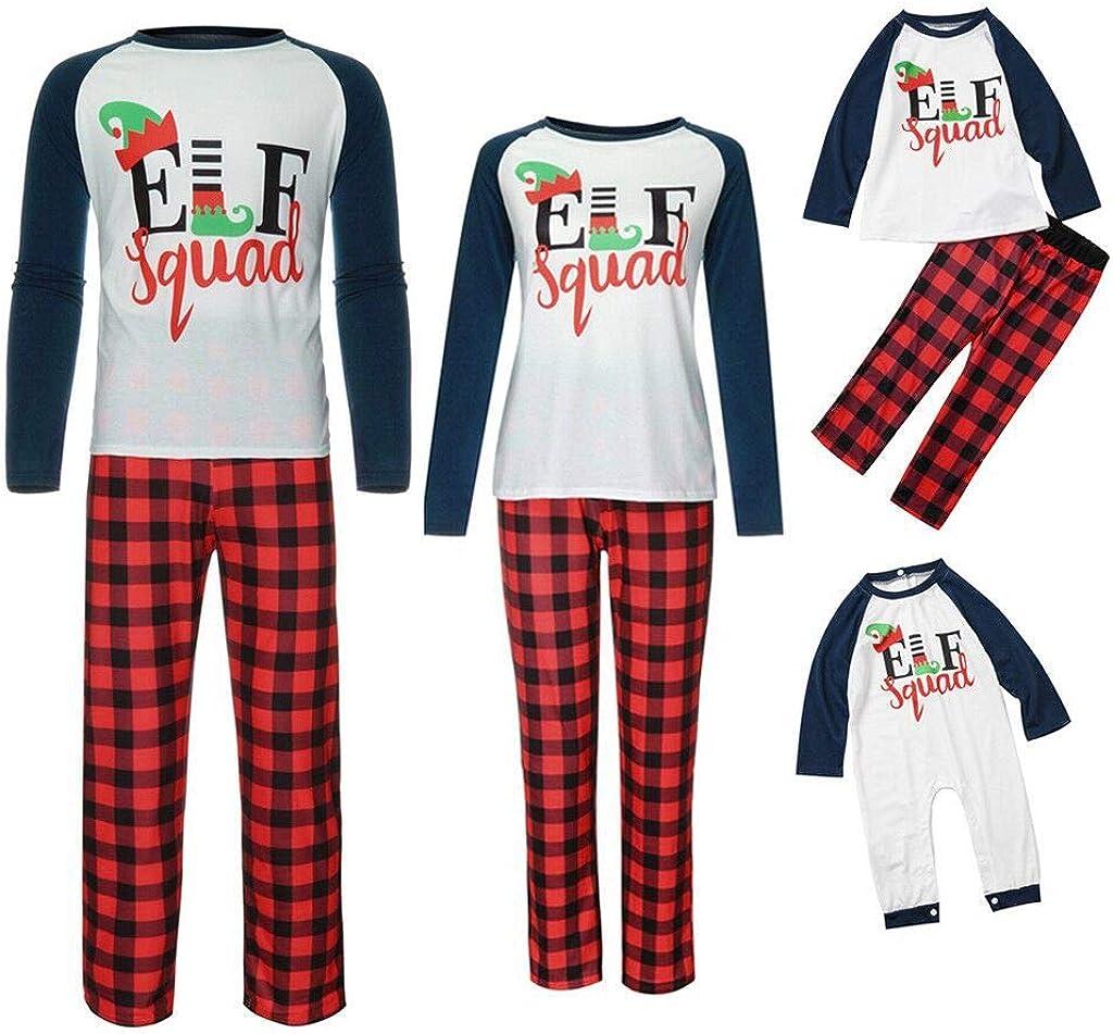 Pijamas Navidad Familia a Juego - Elf Tops y Pantalones de ...
