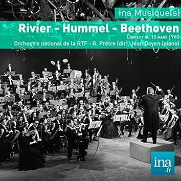 Rivier - Hummel - Beethoven