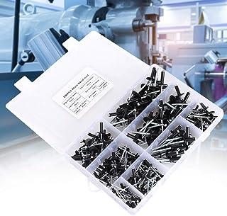 Nylon ST801HS Black .195 Inch Truss HD .059-.177 Inch GR , M48105 Blind Rivets; 1//8 Inch, Klik-Lok Plastic Rivets