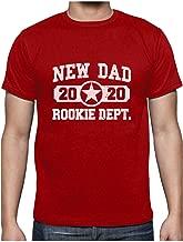 2020 New Dad Rookie Dept. Regalos Originales para Padres Primerizos Camiseta de Manga Larga para Hombre