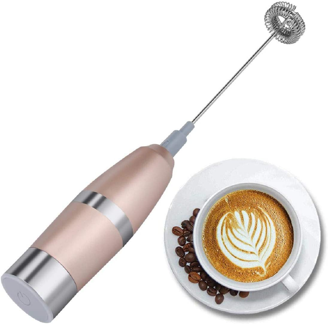 Vacally Electric Handheld Milk Frother Double Lattes Ranking TOP1 Industry No. 1 for Making