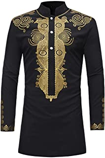 mens dashiki shirts uk