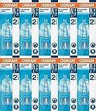 Osram - Lot de 10 ampoules halopin eco halogène avec culot à broches g9 230 v, G9 48|wattsW 230|voltsV