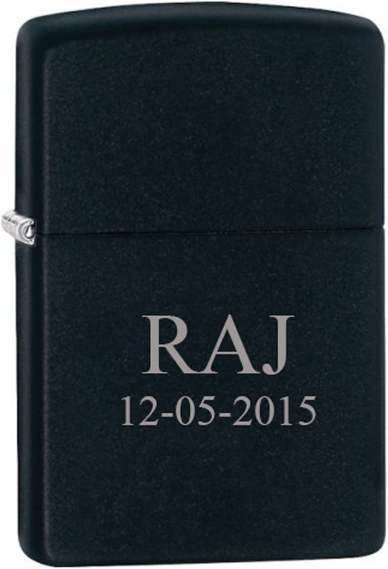 Groomsman Gift Personalized safety Matte Finish Lighter - Color Max 77% OFF Zippo F