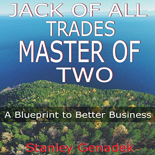 Jack of All Trades, Master of Two audiobook cover art
