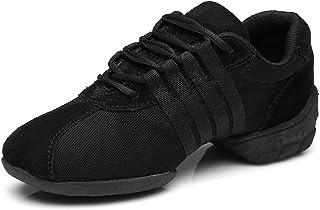 comprar comparacion HIPPOSEUS Zapatos de Gimnasia Deportivos cómodos y Transpirables para Mujer Zapatos de Baile Antideslizantes para Danza Mo...