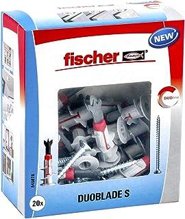 Fischer 545678 Duoblade + Tornillo Gris y Rojo