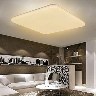 HENGMEI 48W Lámpara de techo LED Ultradelgado Plafón de