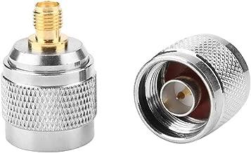 Conector RF hembra N-KFD-5 N hembra Jack RF conector coaxial con brida de cobre 17.5 /× 17.5 2 piezas