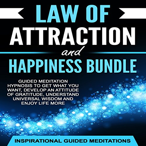Law of Attraction and Happiness Bundle audiobook cover art