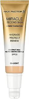 Max Factor Miracle Touch tweede huid, licht, 30 ml