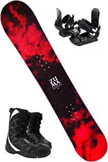 【3点セット】 ZUMA ツマ スノーボード 17-18 FANTAS ファンタス 板/ビンディング/ブーツ