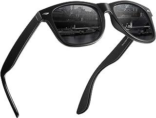 3b4c7c0e8d08 Polarized Sunglasses for Men and Women - Feirdio Classic Retro Sun Glasses  Pattern Frame Mens Sunglasses