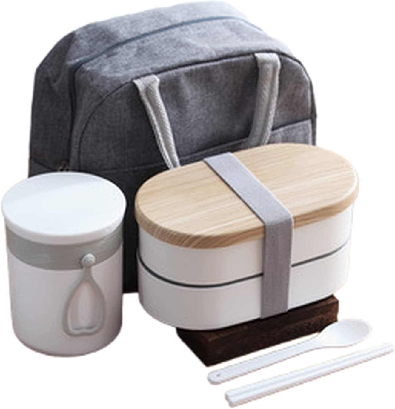 Bento Many popular brands famous Box Adult Double Food Ma PP Friendly Environmentally