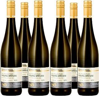 Weingut Mees RIESLING TROCKEN SPÄTLESE 2018 KREUZNACHER PARADIES Prämiert Weißwein Wein Deutschland Nahe Paket 6 x 750 ml 100% Riesling