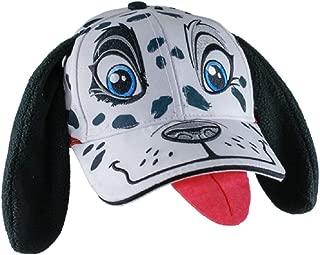 Youth Monster Mutt Dalmatian Floppy Ear Hat White