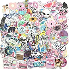 PACKAGE - As the picture shown,we prepared 156 pieces cartoon stickers for you.All what you see at picture size of the stickers: 3.1-10cm/2.8-3.9in. ADVANTAGE:All the Stickers made with High Quality vinyl,with Sun Protection and Waterproof .The stick...