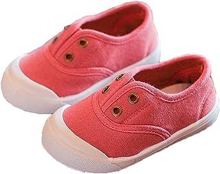 [テンカ] ベビーシューズ スニーカー 子供靴 キッズ 運動靴 デッキシューズ 通学靴 クッション性 屈曲性 歩きやすい 軽量 赤ちゃん 日常履き 履き脱ぎやすい 柔らかい 男の子 女の子 プレゼント 通気 軽量