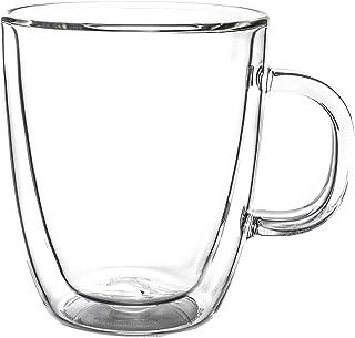 ボダム ビストロ ダブルウォールグラス 2個セット 300mL 保温 エスプレッソ マグ 10604-10US4 BISTRO DWG 二重構造 プレゼント コーヒー [並行輸入品]