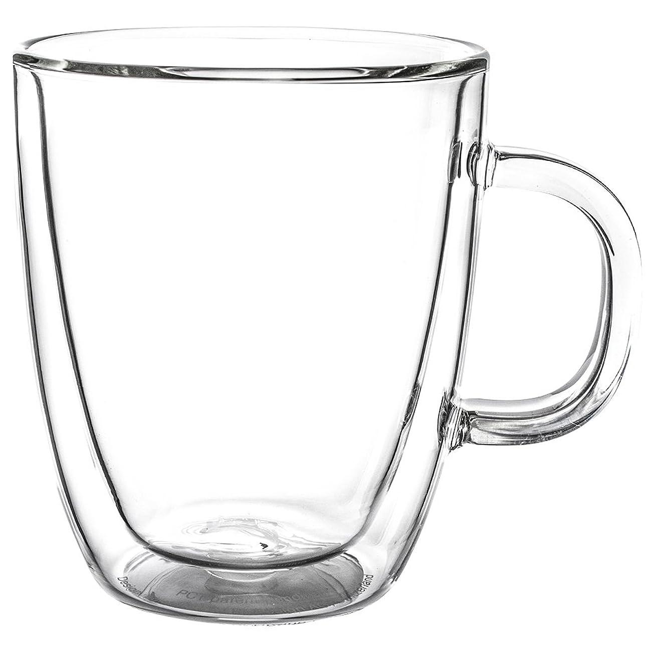 のど手術熱意[ ボダム ] BODUM ビストロ ダブルウォールグラス 2個セット 300mL 保温 エスプレッソ マグ 10604-10US4 BISTRO DWG 二重構造 プレゼント コーヒー 新生活 [並行輸入品]