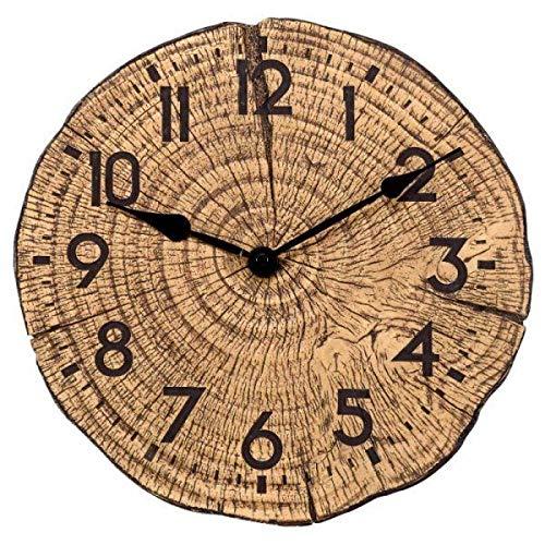 SMART SOLAR 5160062 Armbanduhr, Holzoptik, 30 cm, Schwarz