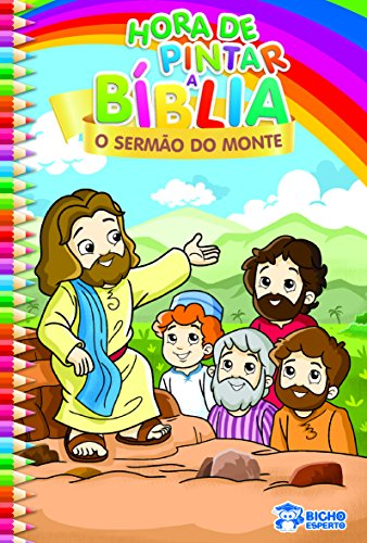 O Sermão do Monte - Coleção Hora de Pintar a Bíblia