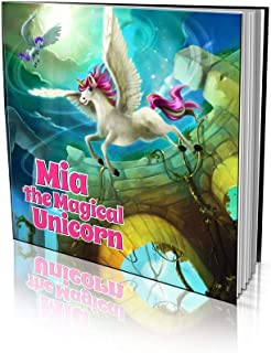 """Personalized Storybook by Dinkleboo -""""The Magical Unicorn"""" - for Kids Aged 2 to 8 Years Old - A Story About Your Son or Da..."""