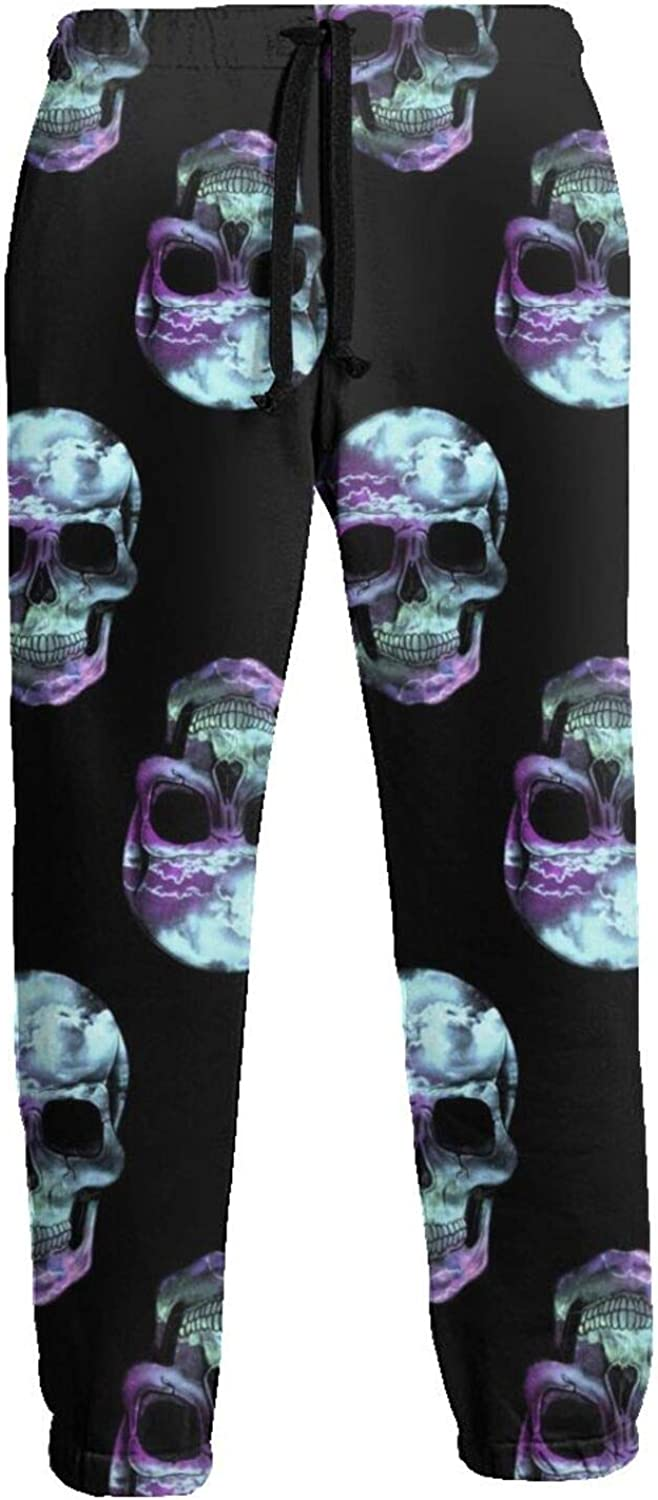 Ybrktl15- Men's X-ray Skulls Sweatpants Our shop OFFers the best service Bottom Close Athletic gift