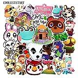 New Animal Crossing Stickers Jouets pour Motos pour Enfants Planches À roulettes Téléphones DIY Main Agendas Scrapbooks Bureau 50 Pcs/Ensemble