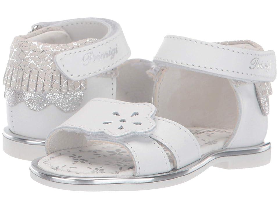 Primigi Kids PHD 34164 (Toddler) (White) Girls Shoes