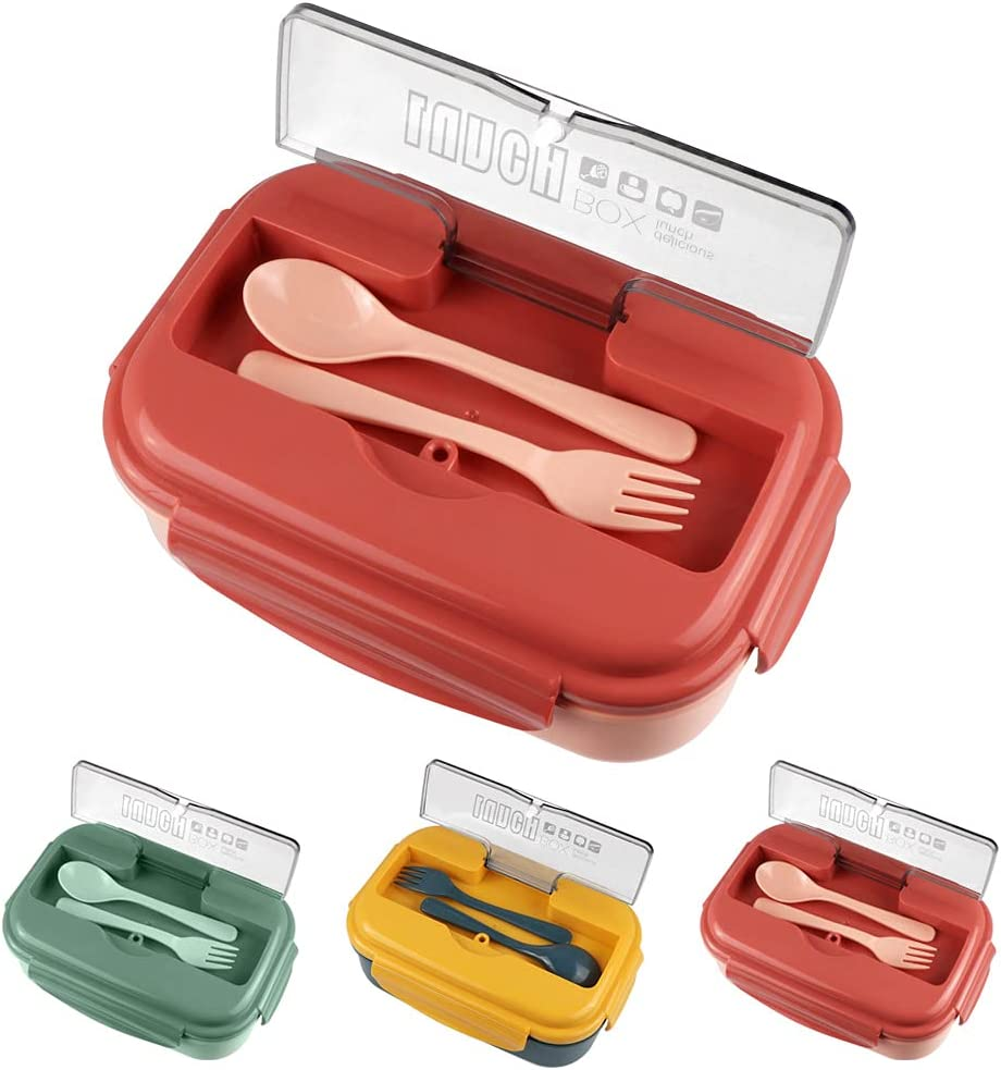 Bento Box Lunch Containers Max 61% OFF for Iteryn Compartmen 3 Store Adult Kids