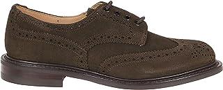 Luxury Fashion | Tricker's Men BOURTON5HEARTSUEDE Brown Suede Lace-up Shoes | Season Permanent
