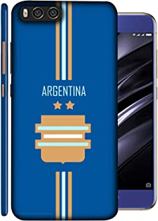 ColorKing Xiaomi Mi A1 Football Blue Case shell cover - FifaLargentina 01