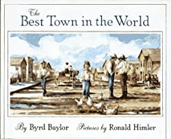 A screenshot of the cover of the book The Best Town in the World