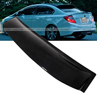 Remix Custom Roof Spoiler for 2012-2015 Honda Civic 4DR Sedan Rear Roof Window Visor