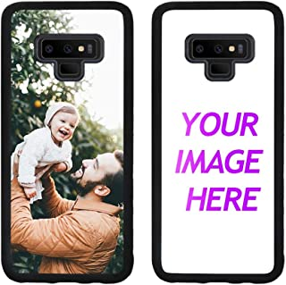 Customized Case for Samsung Galaxy Note 9 Personalized Custom Picture Phone Case Customizable Slim Soft and Hard Tire Shockproof Protective Phone Cover Case Make Your Own Phone Case